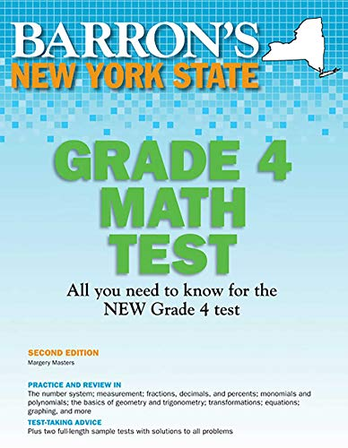 New York State Grade 4 Math Test (Barron's Test Prep NY)