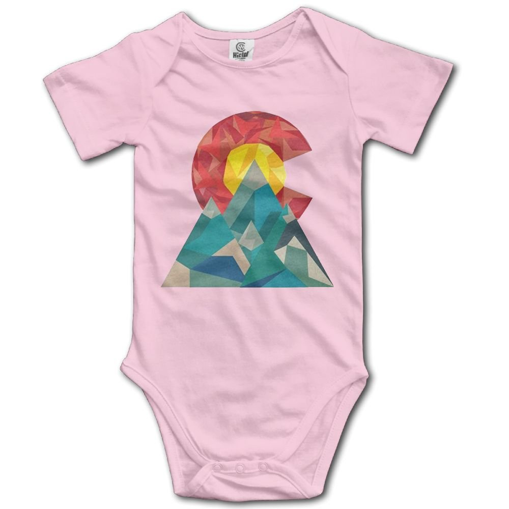 JDFIF FJFS The Newborn Outfit Creeper Short Sleeves Jumpsuits - Colorado Geo