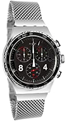 Swatch Blackie Mens Watch YVS401G