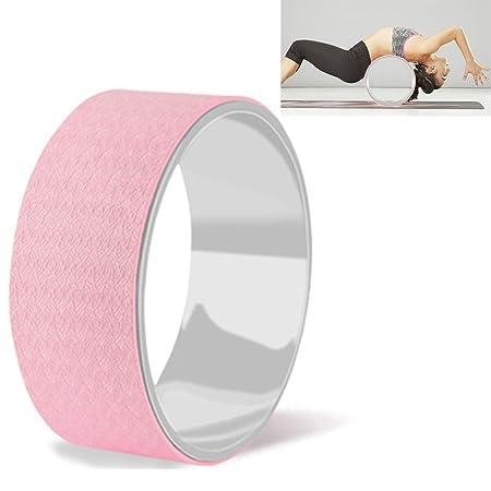 YUJIAL Sport Yoga Wheel Mejora la flexibilidad, Libera ...
