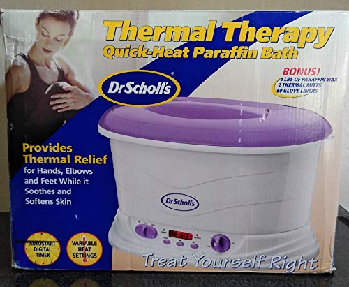 Troy Helen Foot Bath - Dr. Scholl's for Her Thermal Therapy Quick Heat Paraffin Bath, 1 ea - 2pc