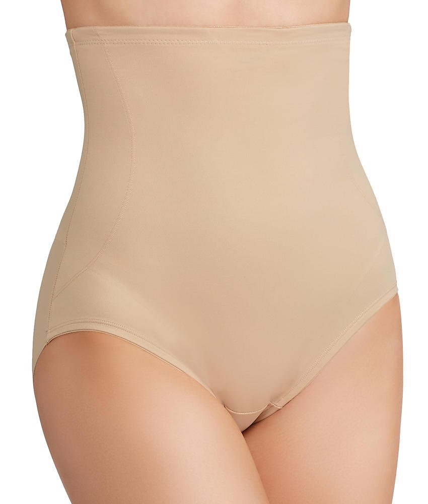 TC Fine Intimates Back Magic Extra-Firm Control High-Waist Brief, L, Nude by TC Fine Intimates (Image #1)