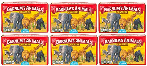 Barnum Animal Crackers, 2.125 oz, 6 pk ()