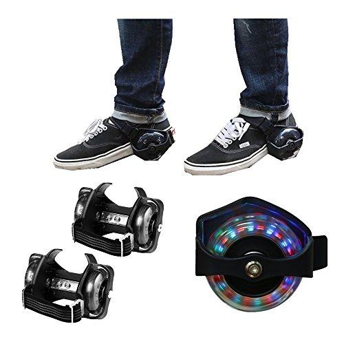 Qulista Flashing Roller Patines Dos Ruedas Luminosas para Zapatos Juguetes y Juegos para Niños Más de 6 Edad(EU Stock) (con Luz): Amazon.es: Deportes y ...