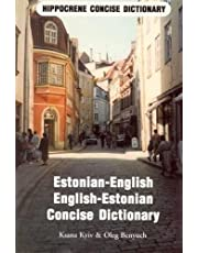 Estonian-English/English-Estonian Concise Dictionary