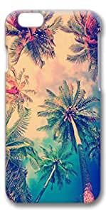 iPhone 6 Case, Personalized[DIY Customization] Slim Protector Case Cover for 4.7 inch iPhone 6 Coconut Trees by lolosakes