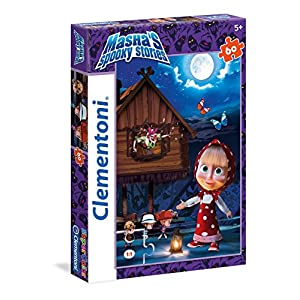 Clementoni Mashas Spooky Stories Supercolor Puzzle 60 Pezzi 26977