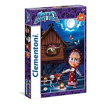 Clementoni Mashas Spooky Stories Supercolor Puzzle 60 Pezzi 26977