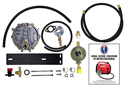 Amazing Honda Eu2000i Generator Propane / Natural Gas Conversion Kit With Propane  Connection Hose And Regulator.