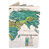 Departure from Normal Map Travel Passport Holder, Bags Central