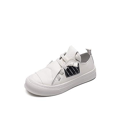 ed863dbfd5 YIFULY Niñas Transpirable Zapatos Blancos de Primavera Nueva versión Coreana  de los Alumnos Salvajes Calzado Deportivo