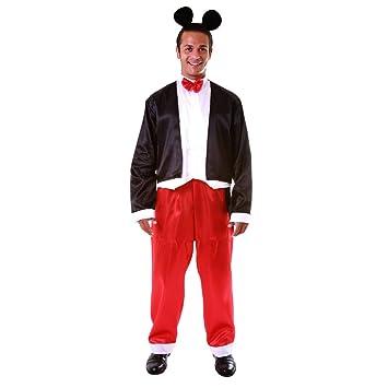 Dress Up America Disfraz de Mr. Gracioso Mr. Ratón Adulto: Amazon ...