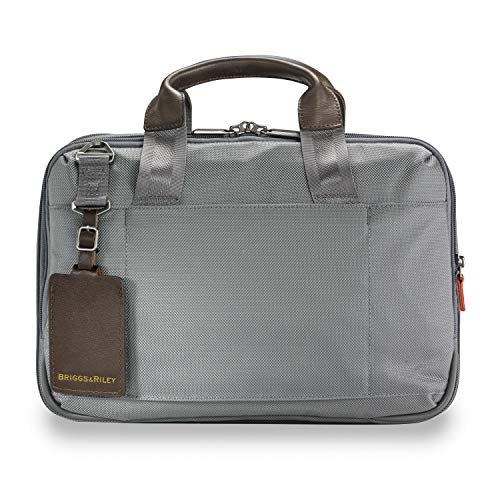 upc 789311000960 product image for Briggs & Riley @work Slim Briefcase, Gray