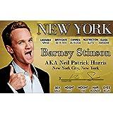 Signs 4 Fun Nhmmid Barney Stinson's Driver's License