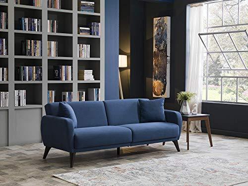 BELLONA Functional Sofa in A Box (Indigo Blue)
