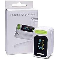 Pulsoxymeter Vingertop, SPO2 Monitor Vingertop Oxygen Monitor Met Kleuren OLED/Audio Alarm / Spo2 Monitor Finger Puls…