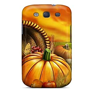 Galaxy S3 Case Cover Skin : Premium High Quality Halloween Pumpkins Case