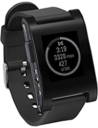 E-Paper Smart Watch for iPhone and Android Devices (Black)