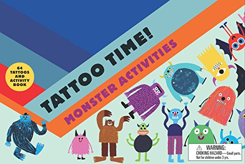 Tattoo Time! Monster Activities