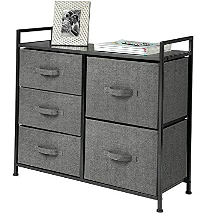 Amazon.com: Hebel Wide Dresser Storage Tower Organizer Unit ...