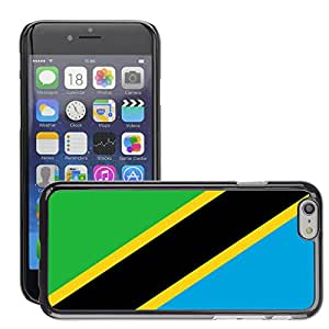 """GoGoMobile Slim Protector Hard Shell Cover Case // V00001181 tanzania National Country Flag // Apple iPhone 6 4.7"""""""