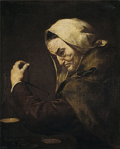 - Oil Painting 'Ribera Jose De An Old Usurer 1638', 30 x 37 inch / 76 x 94 cm , on High Definition HD canvas prints is for Gifts And Dining Room, Kitchen And Living Room Decoration, online