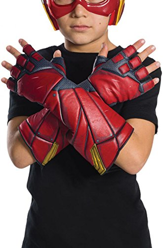 Rubie's Costume Boys Justice League Flash Gloves Costume, One Size
