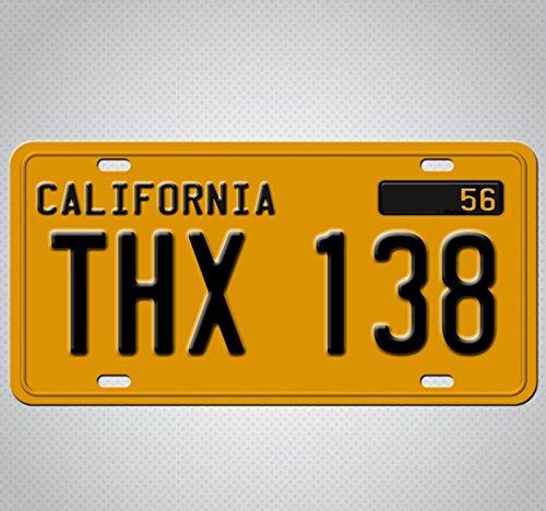 Forever Signs Of Scottsdale American Graffiti THX 138 Metal Replica Prop Aluminum License Plate ()