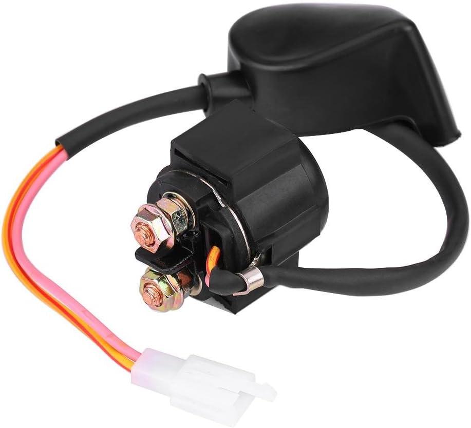 Relé de solenoide de arranque, Fydun rendimiento estable Relé de solenoide de arranque Accesorios para TRX400EX TRX300 ATC GY6 50cc-125cc ATV