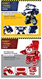 New Korean Animation Character KAY and ALF Robot Train Transformer Toy For Kids
