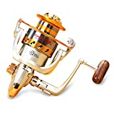 Spinning Fishing Reel,12 Ball Bearings Light Smooth,1000 to 7000 Series,Left/Right Interchangeable Spinning Reels Saltwater Freshwater Fishing
