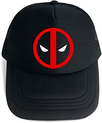 Maneray Cosplay Gorra de Béisbol Anime Deadpool Unisex Snapback ...