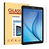 Samsung Galaxy Tab E 9.6 Screen Protector 9.6 Inch, Nearpow Tempered Glass Screen Protector with [9H Hardness] [2.5D Round Edge] [Crystal Clear] [Easy Bubble-Free Installation] [Scratch Resist]