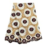 Laliva Swiss Voile Laces Switzerland 058 African 100% Cotton Lace Fabric Nigerian Women Voile Lace Party Dress
