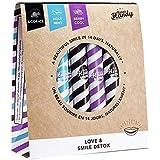 Merci Handy - Natürliche Heilmittel, Smile Detox Mix, 3 Geschmacksrichtungen: Licor-Ice, Heilige Minze, Cool Beere. Hergestellt in Frankreich