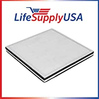 2 Pack Replacement Filter for Surround Air MT-8500SF 3 in 1, HEPA, Carbon and Pre-Filter by LifeSupplyUSA