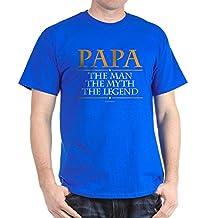 CafePress - Grandpa Man Myth Legend T-Shirt - Comfortable Cotton T-Shirt