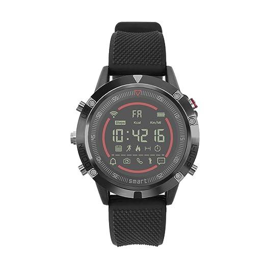NAVIFORCE IT152 Reloj Inteligente Podómetro Impermeable Recordatorio Sedentario Pulsera Monitoreo del Sueño Pulsera Inteligente Rastreador de Ejercicios: ...