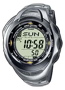 Casio PRW-1200T-7VER - Reloj de mujer de cuarzo con correa de acero inoxidable negra