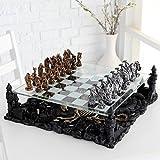 CHH CHH2127C Dragon Chess Set