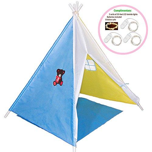 Kids Indian Teepee Tent Children