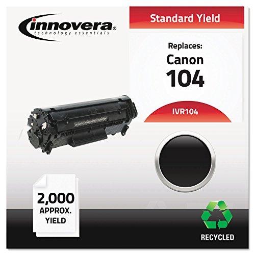 104 Laser Cartridge - Innovera IVR104 Laser Cartridge - 104 Compatible, Remanufactured, 0263B001AA (104) Toner, 2000 Yield, Black