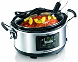 Hamilton Beach® Deluxe Set & Forget® 6 Quart Slow Cooker