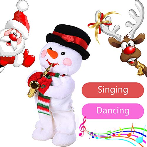 Dimanul Baby Toys,Novelty Toys,Educational Toys,Learning Toys,Kids Tech Toys Merry Christmas Toys 2018 Electric Dancing Singing Reindeer Animated Plush Toy Stuffed Animals