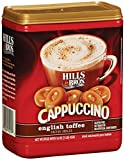 Hills Bros Coffee, Cappuccino English Toffee, 16 Ounce
