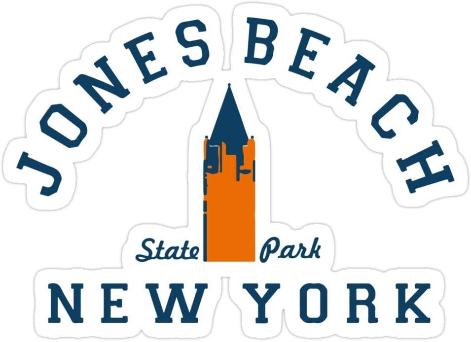 B. Strange Mall Jones Beach - Long Island. Stickers (3 Pcs/Pack)