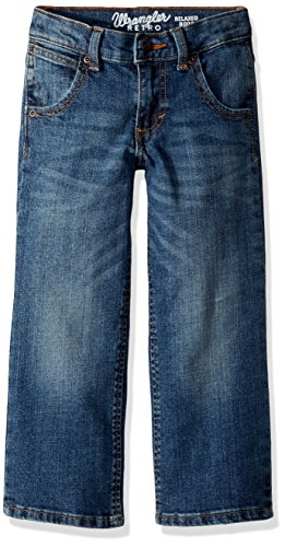 - Wrangler Boys' Retro Relaxed Fit Boot Cut Jeans, Laughlin, 10 REG