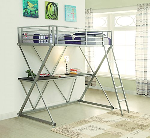Coaster Home Furnishings Bunks Twin Workstation Loft Bed wit