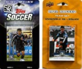 C&I Collectables MLS San Jose Earthquakes 2 Different Licensed Trading Card Team Sets