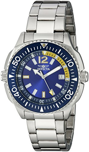 Invicta Men's 1331 II Collection Blue Dial Stainless Steel Watch